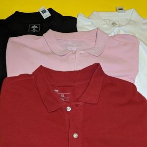 GAP Men's Polo Bundle Size XL